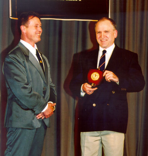 Wayne Gallasch Life Time Achievement Award