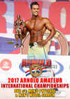 2017 Arnold Amateur International Championships: DVD #1 - MEN'S PHYSIQUE & MEN'S MODEL SEARCH