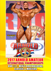 2017 Arnold Amateur USA International Championships: DVD # 2 - MEN'S BODYBUILDING, CLASSIC & MASTERS