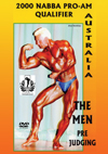 2000 NABBA Australia Pro-Am Qualifier: The Men - Prejudging