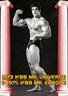 1973 IFBB MR. UNIVERSE & 1975 IFBB MR. EUROPE